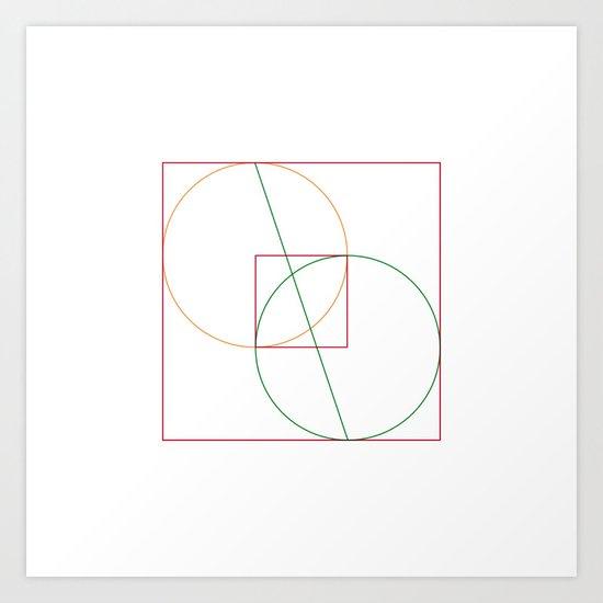 #218 Cyclops – Geometry Daily Art Print