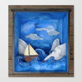 czech voyage Canvas Print