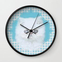 Lord Aries Cat - Art 001 Wall Clock