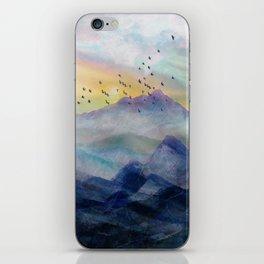 Mountain Sunrise iPhone Skin
