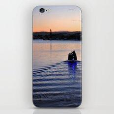 Boat man iPhone & iPod Skin