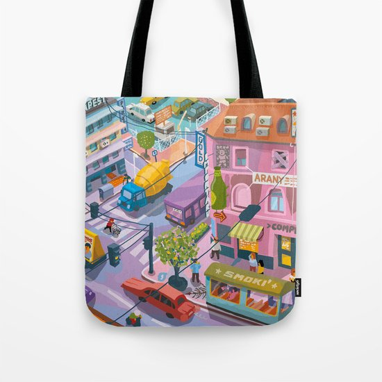 My little Budapest Tote Bag