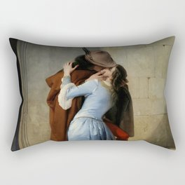 The Kiss (Il Bacio) - Francesco Hayez 1859 Rectangular Pillow