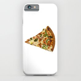 Spicy Pizza Slice iPhone Case