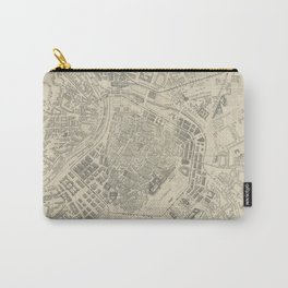 Vintage Map of Vienna Austria (1877) Carry-All Pouch