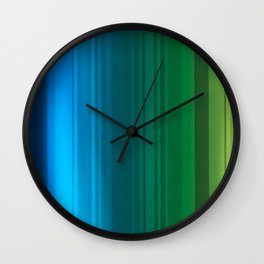 Taste the Rainbow Wall Clock
