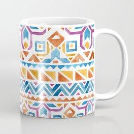 Geometric colorful Watercolor Pattern Coffee Mug