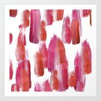 Pink Mood Art Print