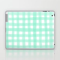 Gingham Mint Laptop & iPad Skin
