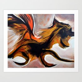 MyLion Art Print