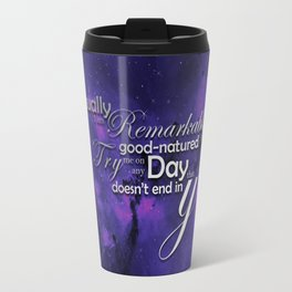 Usually Good Natured Travel Mug