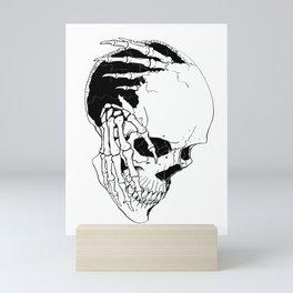Skull (Creeping Hands) Mini Art Print