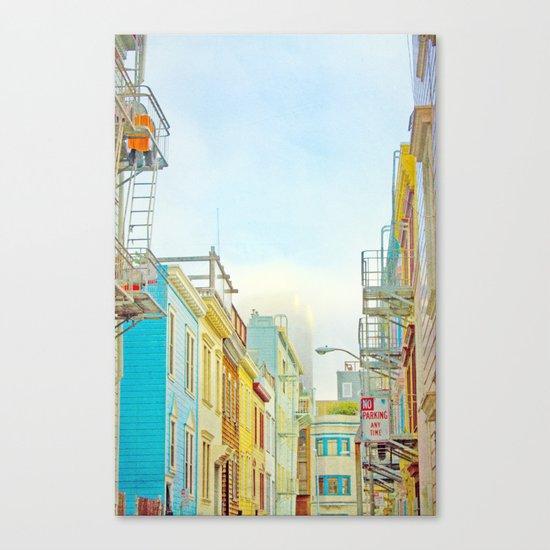 SF Tops 1 Canvas Print