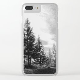 Zeitgefluester NO1 Clear iPhone Case