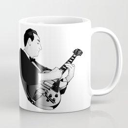 LES PAUL House of Sound - WHITE GUITAR Coffee Mug