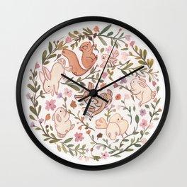 Sweet nature! Wall Clock