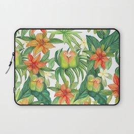 Jungle Tropical Watercolor Greenery Botanical Laptop Sleeve