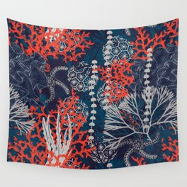 Corals and Starfish Wall Tapestry