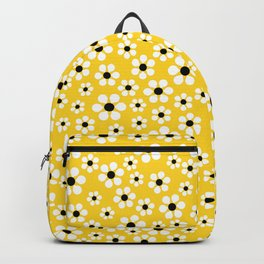 Dizzy Daisies - Yellow - more colors Backpack