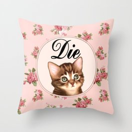 Die Throw Pillow