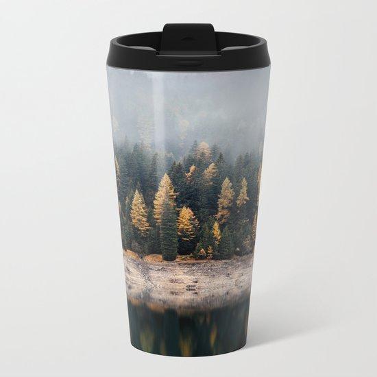 autumn vibes Metal Travel Mug