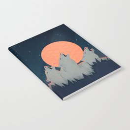 Howling Moon Notebook