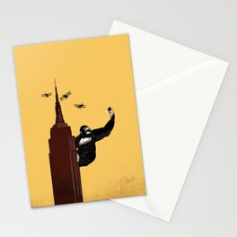 King Kong Love Selfie Stationery Cards