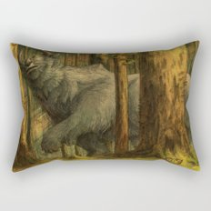 Passing Ships At Dusk Rectangular Pillow