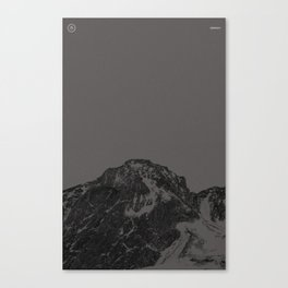 Nature / Winter Mountains Canvas Print