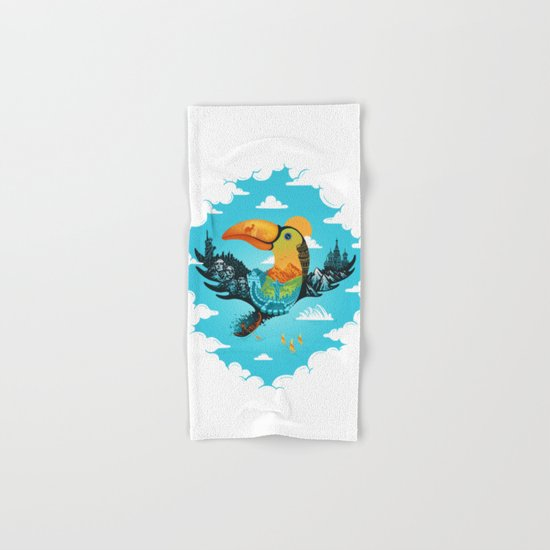 World Traveler Hand & Bath Towel