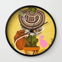 DESERT VISIONS Wall Clock