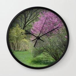 Riverside Spring Wall Clock