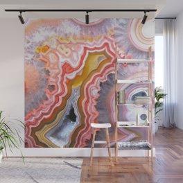 Agate Gem slice Wall Mural