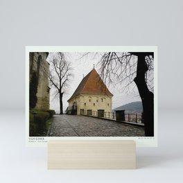 Sighisoara Romania Mini Art Print