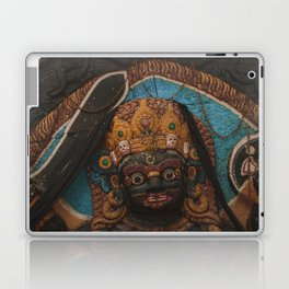 Temples and Architecture of Kathmandu City, Nepal 003 Laptop & iPad Skin
