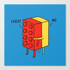 Le go! No Canvas Print