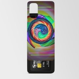 Abstract in perfection 121 Android Card Case
