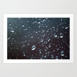 One Of Those Days - The Window Art Print