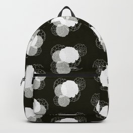 Succulents (bw) Backpack