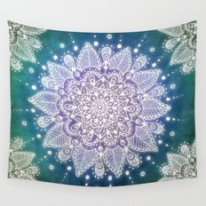 Peacock Mandala Wall Tapestry