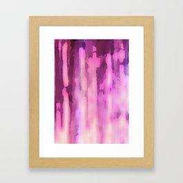 Pink Ink Framed Art Print