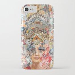 Marie Antoinette II iPhone Case