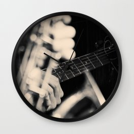 Jazz Music Wall Clock
