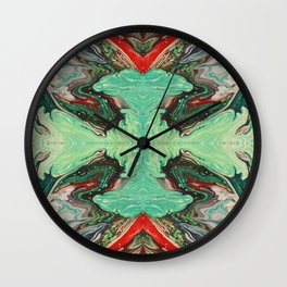 Blooming Flower Wall Clock