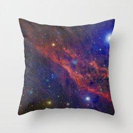 California Nebula Throw Pillow