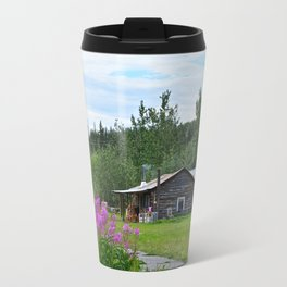 Pioneer Cabin - Alaska Travel Mug