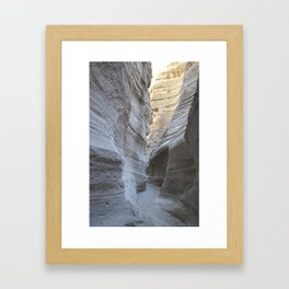 tent rocks Framed Art Print