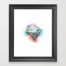 Winter Island Framed Art Print