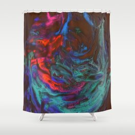 Whipped Cream Shower Curtain