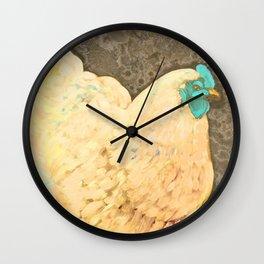 Golden Orp Wall Clock